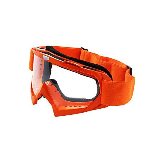Allegorly Al Aire Libre Cross Country Race Casco De Moto Gafas, Gafas De Esquí, Gafas De Ciclismo, Gafas Deportivas para Esquí, Patinaje sobre Ruedas, ProteccióN contra El Viento