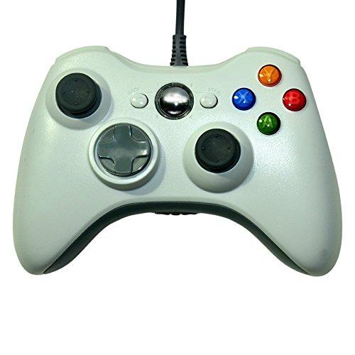 JASMWALL Game Controller 360 Gamepad USB Wired Joypad Controller für Microsoft Xbox & Slim 360 PC Windows 7