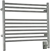 Amba KSP-30 Jeeves Polished Stainless Model K Straight Towel Warmer 29.5 x 27