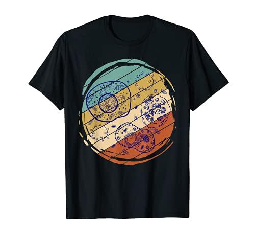 Retro Biología Camiseta