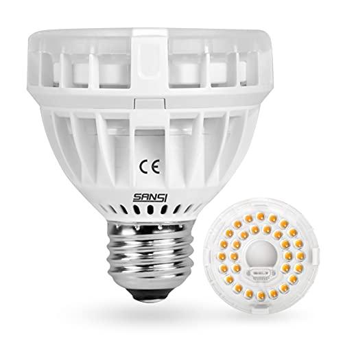 SANSI Lampadina LED per Piante da Interno a Spettro Completo, 10W (100W Equivalente) E27 Lampada Coltivazione per Piante Semina, Crescita, Fioritura, Fruttificazione