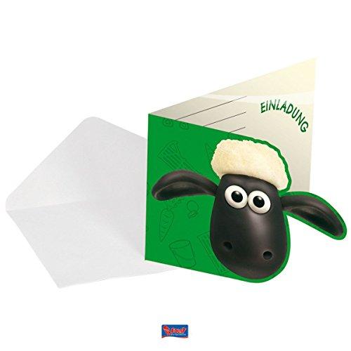 Generique - Einladungskarten Shaun das Schaf