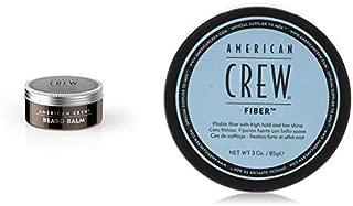 American Crew Beard Balm 60 g + Fiber - 85 g