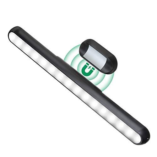 KINGSO Led Lichtleiste Touch Dimmbar Batteriebetrieben mit Magnet für Küche Schrank Neutralweiß USB Wiederaufladbar 3.5W 4500K 2000mAh Led lichtleiste Küche Unterbau kabellos Selbstklebend