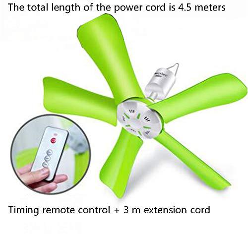 Kleine plafondventilator, stil, voor studenten, slaapzaal, huis, bed, insectenbescherming, ventilator voor slaapkamer, wind, grote ventilator. D
