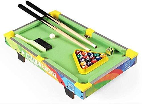 LINANNAN Billar para Adolescentes Kids Play Fun Juego Multi Cuadro de Juego de Hockey Piscina Mesa de Tenis de Mesa de fútbol para los Partidos y de Mesa Sala de Juegos niños Jue.