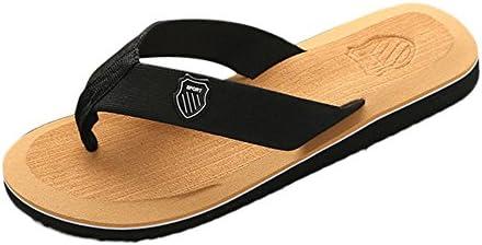 Sandalias Hombre Lanskirt Chanclas de Playa de Verano para Hombres Calzado Durable y Color sólido Zapatillas casa Chancla Piscina Zapatos Suave
