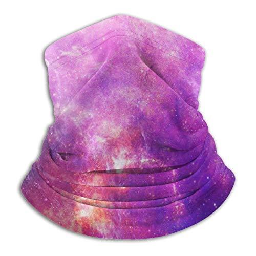 Merle House Space Nebula Stars Helle gesättigte Kopfbedeckung Halsmanschette Wärmer Winter Skiröhrchen Schal Maske Fleece Gesichtsschutz winddicht