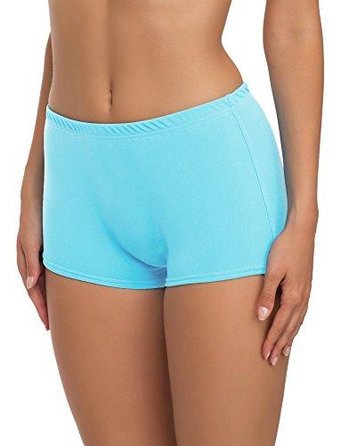 Merry Style Damen Badeshorts Bikinihose Modell L23L1 (Hellblau (60152), 44)