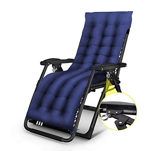 DYR Liegende Vier-Jahreszeiten-Schwerkraft mit Kissen für Menschen, Außenterrasse Beach Office Chaise Lounge Chair, Unterstützung 200 kg