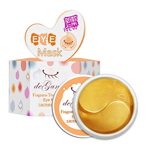 Gychee Collagen Eye Patch Hydratant Raffermissant Peau Enlever Les Yeux Cernes Cernes Gel Hydratant Masque Pour Les Yeux