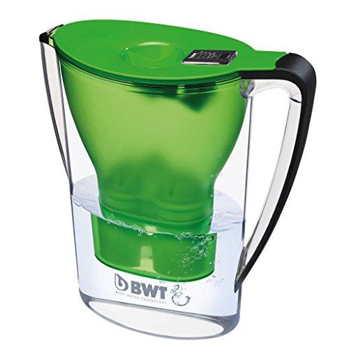 BWT Caraffa Filtrante Modello Penguin, Verde-1 Filtro Magnesium Mineralizer incluso