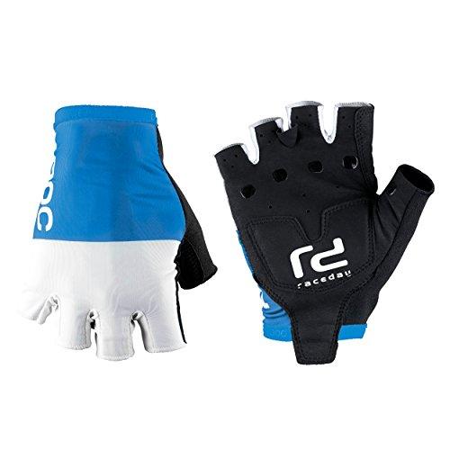 POC Raceday Guantes Ciclismo, Hombre, Azul (Garminium Blue), S
