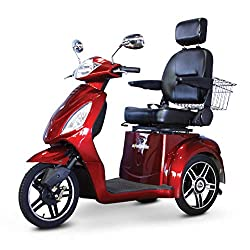 Electric Scooter with Seat and Trunk for Adults