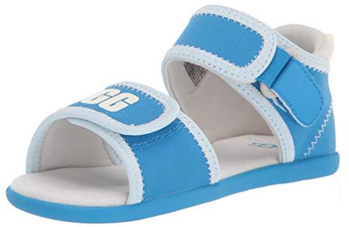UGG Kids' Delta Sandal, Blue Aster, 12