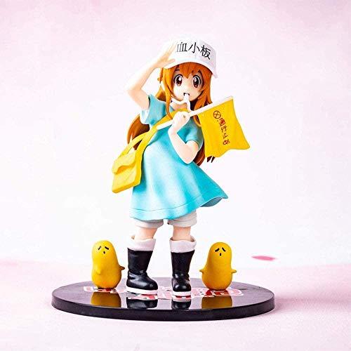 16 cm Kesshouban Anime Figuras Estatua Hataraku Saibou Figura de acción Juego de Dibujos Animados Modelo Modelo de Juguete Decoración de Navidad Juguete Acción Figura Escultura