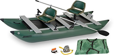 Cheapest Price! Sea Eagle 375fc FoldCat Inflatable Fishing Boat - Deluxe Package