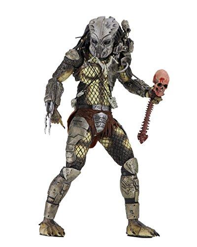 Figura Predator Jungle Hunter con mscara 18 cm. 30 aniversario. NECA