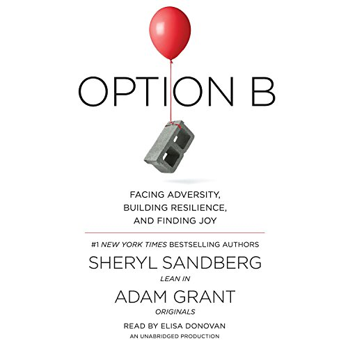 Option B audiobook cover art