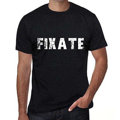 fixate Herren T Shirt Schwarz Geburtstag Geschenk 00554