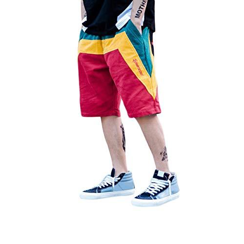 Irypulse Pantalón Corto Deportivo Hombre, Bermudas Verano Surf Bañadores de Playa, Pantalones Cortos Shorts de Jogging Correr para Adolescentes y Niños - Diseño Original