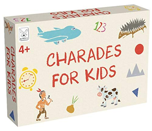 Kids Charades Game Charades For Kids Family Games Fun Children Charades...