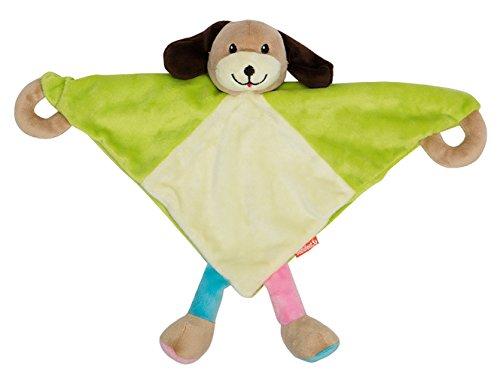 Baby geeignetes Schnuffeltuch Schmusetuch Kuscheltuch Hund / Stofftier Plüschtier Kuscheltier