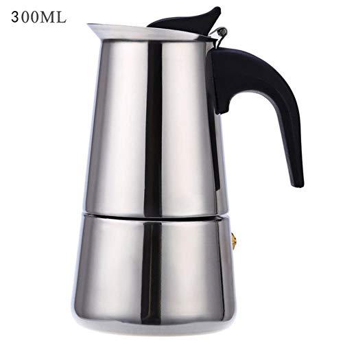 RANJN 2/4/6/9 kopjes koffiezetapparaat pot roestvrij staal espresso latte fornuis filter koffiezetapparaat koffiepot voor de keuken