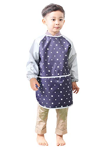 Top 10 Best Art Smocks and Aprons for Kids with Reviews 2019-2020 cover image