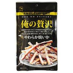 カモ井 俺の贅沢 やわらか焼いか 34g×5袋入×(2ケース)