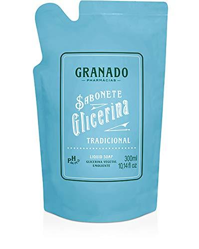 Refil Sabonete Líquido Glicerina Tradicional 300 Ml, Granado