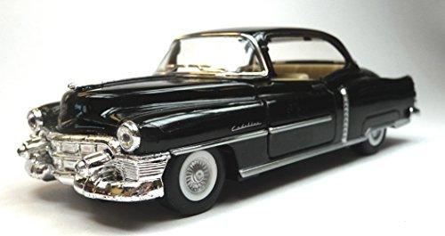Generisch Kinsmart Modellauto kompatibel mit Cadillac Series 62 Coupe schwarz ca. 12,5 cm