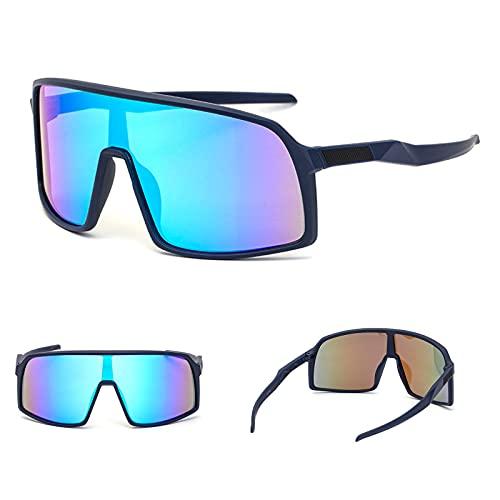 Gafas De Sol Deportivas UV400 Gafas De Ciclismo Polarizadas Deportivas para Hombre Y Mujer, Gafas De Sol De Béisbol para Pesca (C)