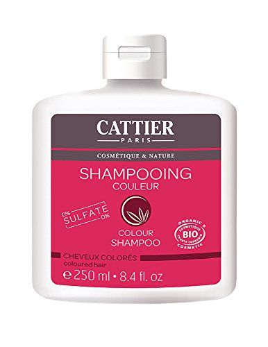 CATTIER Couleur Shampooing sans Sulfate 250 ml Lot de 2