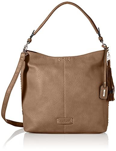 Rieker Damen H1061 Handtasche, Braun, 300x112x300