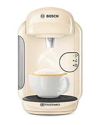 Tassimo Bosch TASSIMO Vivy 2 TAS1407GB Coffee Machine, 1300 Watt, 0.7 Litres - Cream