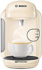 Bosch Tassimo vivy 2 tas1407gb cafetera, 1300 vatios, 0.7 litros - Crema