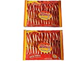 Original Red Hots Candy Canes, Cinnamon Flavored, 12 Count Box (Pack of 2)