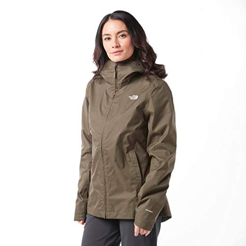 The North Face W Tanken Triclimate, Giacca Impermeabile Donna, Verde (New Taupe Green), S