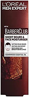 L'Oreal Men Expert Barber Club Short Beard & Face Moisturiser, 50 ml