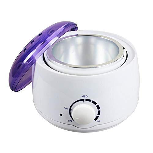 Gearmax 500ml Professionnel Mini Multi-Fonction épilation Cire Main Cire Chaude Cire Blanc Wax Heater Pro