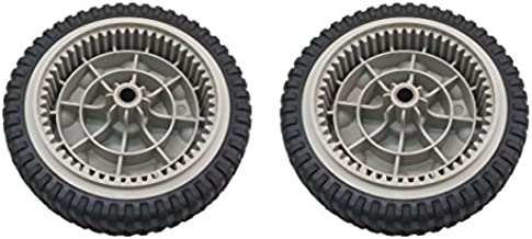 AdZzz Set of (2) Front Drive Wheels Replace MTD Troy-Bilt Self Propelled Mowers for 734-04018C,734-04018B, 734-04018A