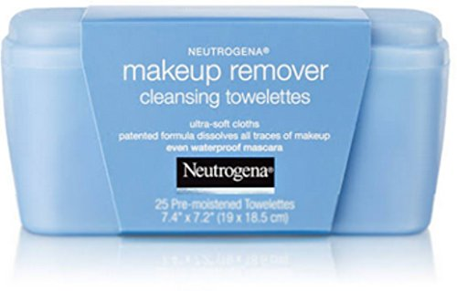 Price comparison product image Neutrogena Makeup Remover Cleansing Towelettes 25 ct (Pack of 4)