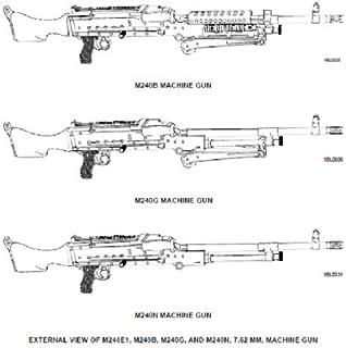 TECHNICAL MANUAL FOR M240 SERIES MACHINE GUNS, MACHINE GUN, 7.62 MM, M240, MACHINE GUN, 7.62 MM, M240B, MACHINE GUN, 7.62 MM, M240C, MACHINE GUN, 7.62 ... when you sample this book (English Edition)
