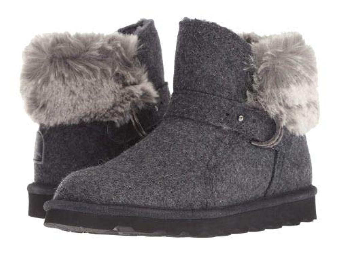 拡大する幸運な有名なBearpaw(ベアパウ) レディース 女性用 シューズ 靴 ブーツ スタイルブーツ アンクル ショートブーツ Koko - Gray Wool [並行輸入品]