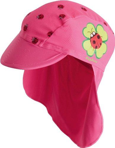 Playshoes Unisex - Baby Babybekleidung/ Badebekleidung UV-Schutz nach Standard 801 und Oeko-Tex Standard 100 Bademütze Glückskäfer 460039, Gr. 51, Pink (900 original)
