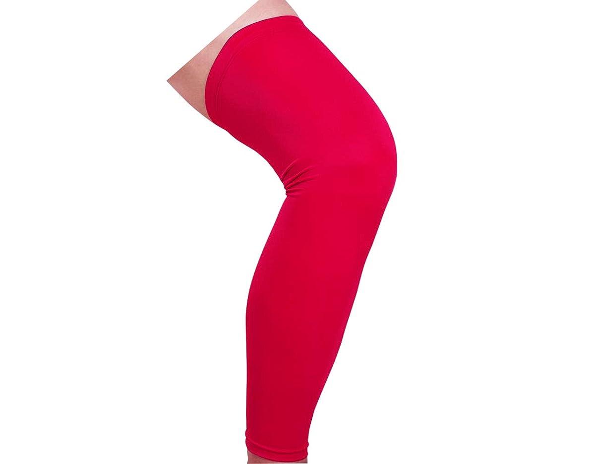 本物のパール独立してAIPMEI 2ピース、ロング保護脚、男性と女性レッグスリーブ、スポーツアウトドア保護脚、ランニング膝パッドライディング機器