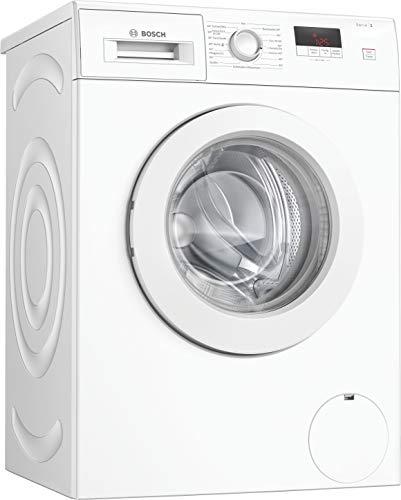 Bosch WAJ24060 Serie 2 Waschmaschine Frontlader / D / 69 kWh/100 Waschzyklen / 1200 UpM / 7 kg / Weiß / Nachlegefunktion / EcoSilence Drive™