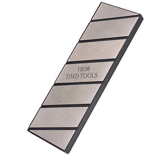 Piedra de afilar de diamante Placa de pulido de piedra de aplanamiento de diamante Aplanadora de fijación de grano 1801 de una cara 254 × 79 × 15 mm
