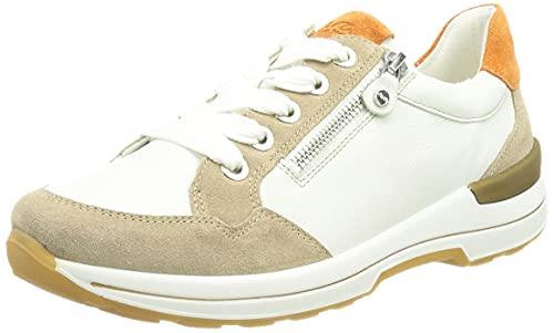 ara Damskie buty sportowe NARA 1224510, biały - Piaskowy biały Ambra - 43 EU Weit